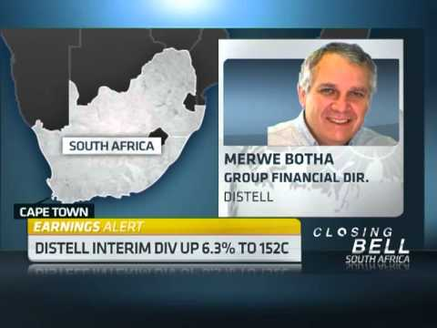 Distell Interim Results with Group FD Merwe Botha