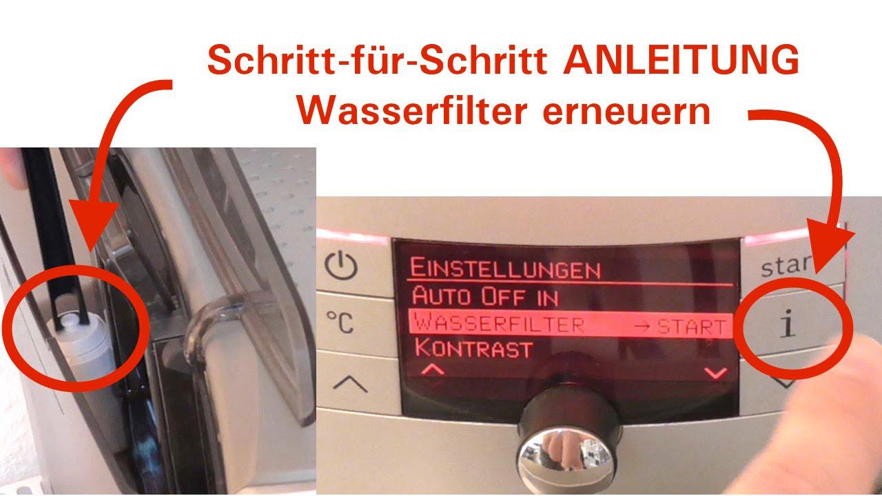 bosch verobar 100 wasserfilter richtig wechseln anleitung f r kaffeevollautomat youtube. Black Bedroom Furniture Sets. Home Design Ideas