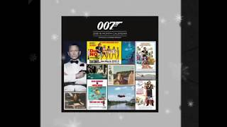 BOND ADVENT CALENDAR - BOND POSTERS