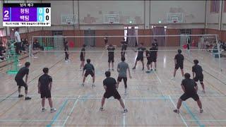 2020 무안고등학교 체육대회 배구 [2세트]