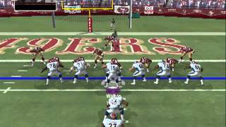 Madden NFL 2005 - aznpikachu215 (Me) vs. 49ers - Gameplay (Players as of March 13, 2012 Rosters)