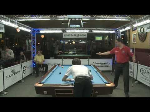 Stuttgart Open 2011 Zobrekis-Doussos, 10-Ball, Pool Billard