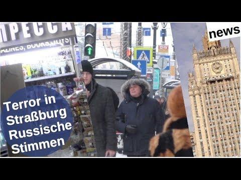 Terror in Straßburg: Russische Stimmen