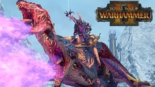 Dragon Sorcerer - Chaos vs Tomb Kings, Norsca // Total War: Warhammer II Online Battle #320