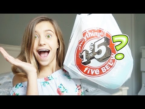 FIVE BELOW MYSTERY BAG WITH JAYLA!