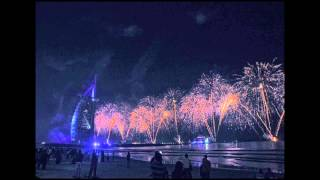 National Day Burj Al Arab Fireworks timelapse