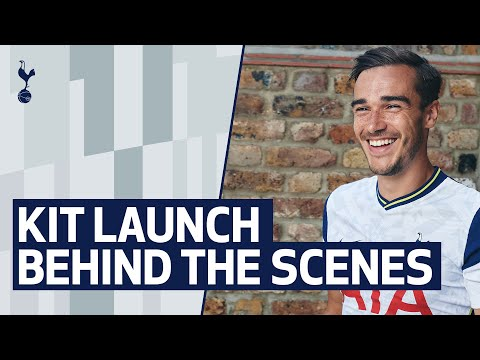 BEHIND THE SCENES | TOTTENHAM HOTSPUR'S 2020/21 KIT LAUNCH
