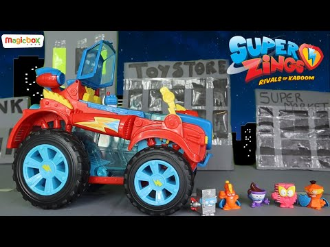 NEW SUPERZINGS Playsets Series 4 - The Heroes Of Kazoom Take On Professor K