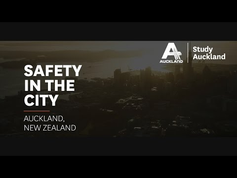 Study Auckland - Safety in the City
