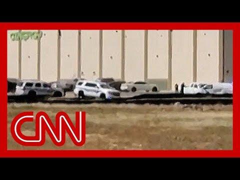 'Surreal' video captures gunfire in Odessa, Texas