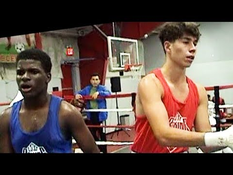 Anthony Strokach : New York Boxing Tournament : Renaldo St Jean. 154 lb. 3 rounds