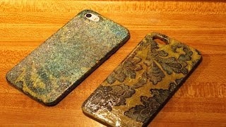 Simple Decoupage Cell Phone Smartphone case