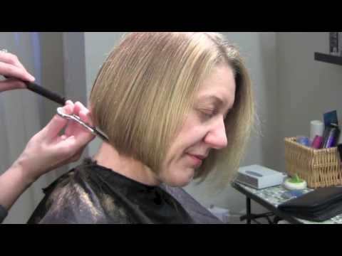 How to do a Bob Haircut Chin Length