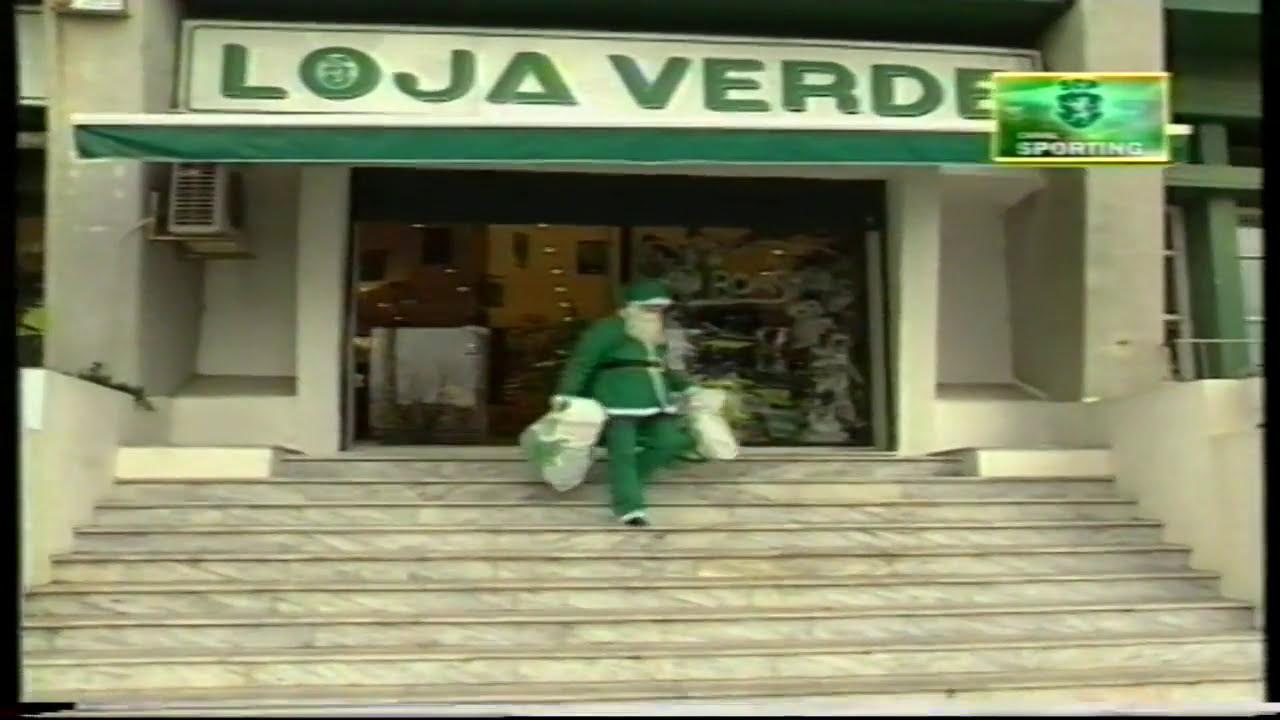 Sporting :: Promoções de Natal na Loja verde em 17/12/1998