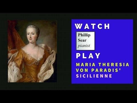 Maria Theresia von Paradis: Sicilienne (E flat)