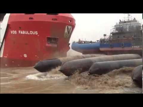 Vroon Group - Launching VOS Fabulous - Nanjing East Star Shipyard