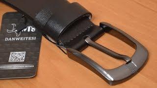 видео Как выбрать качественный  кожаный ремень