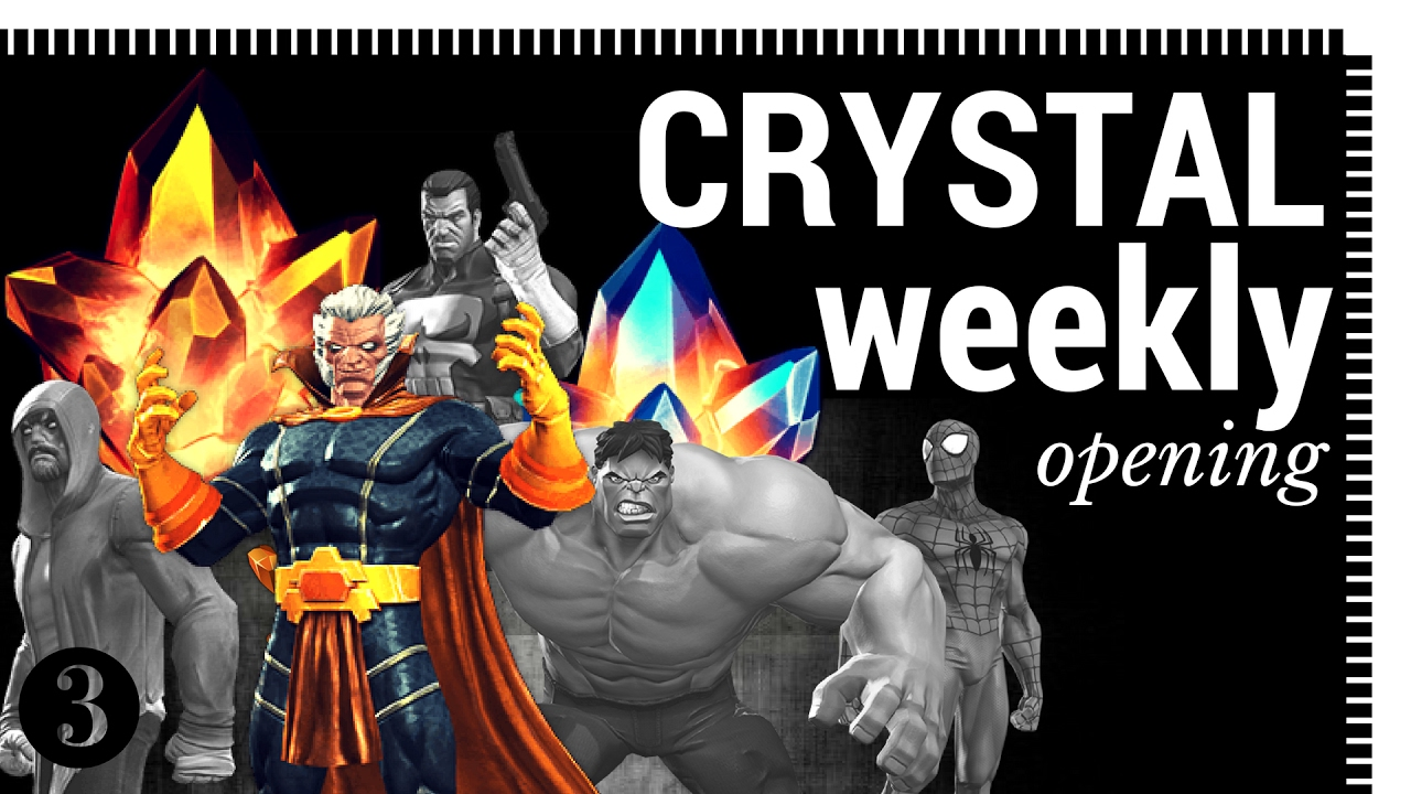 Weekly Opening 30+ Crystals Including 4* | Marvel Contest of Champions