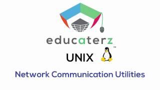 18 Network Communication Utilities