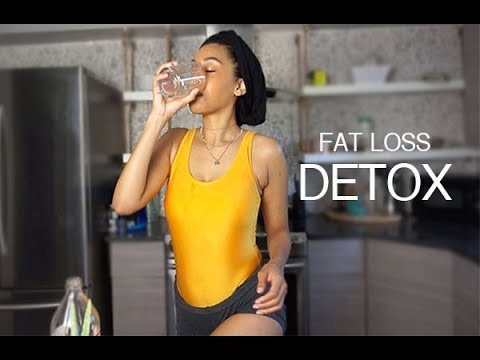 15 minute DETOX FAST WEIGHT LOSS REMEDY | DIY DETOX CLEANSE SHOT