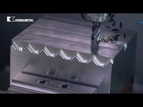 HARVI™ I TE - The Magic Solid End Mill From Kennametal
