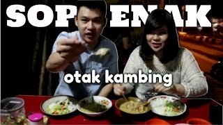 "Otak Kambing Enak | Soto 999 Pak Memed Kumis ""food Review"""
