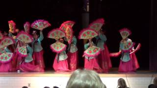 Riddle Elementary Korean Fan Dance 2010 updated