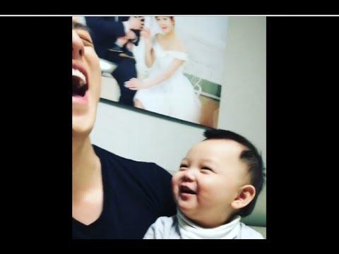 U-KISS ELI and his baby Minsoo #2