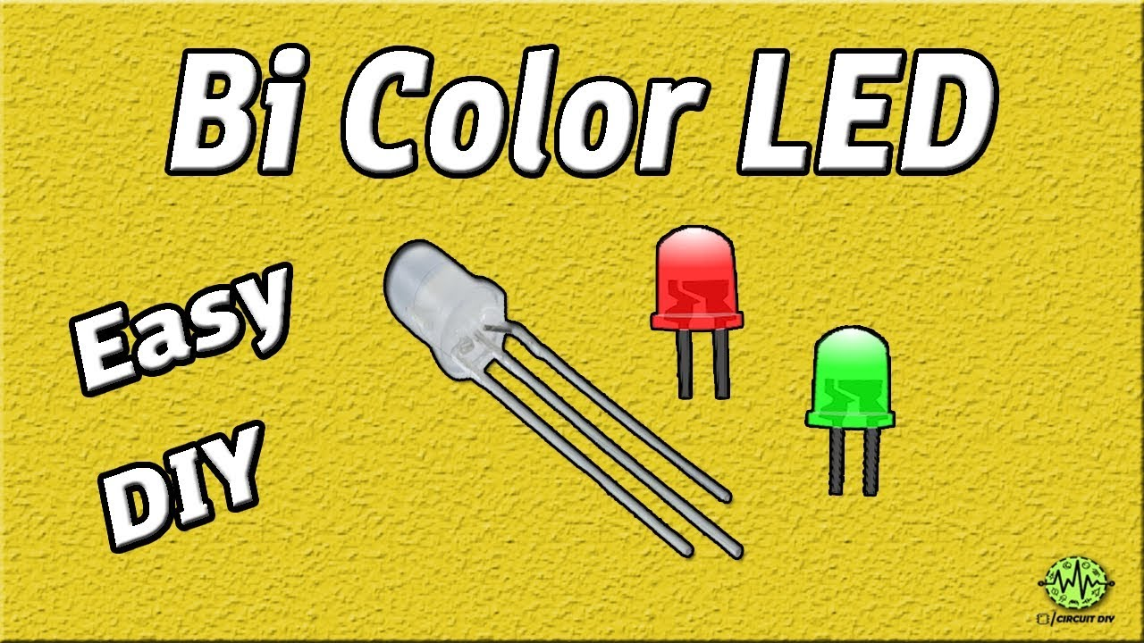 Bi Color Led Driver Circuit Using 555 Timer Ic Diy Easy 5mm Simple Low Battery Indicator Electronic Project