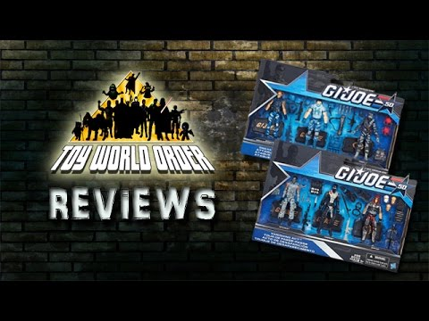 G.I. Joe 50th Anniversary 2015 Toys R Us 3-Pack REVIEWS
