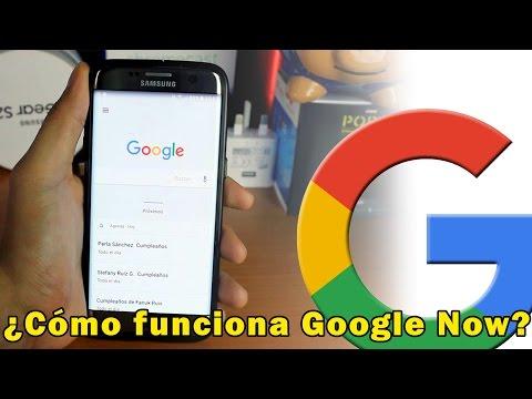 ¿Cómo funciona el asistente Google Now?