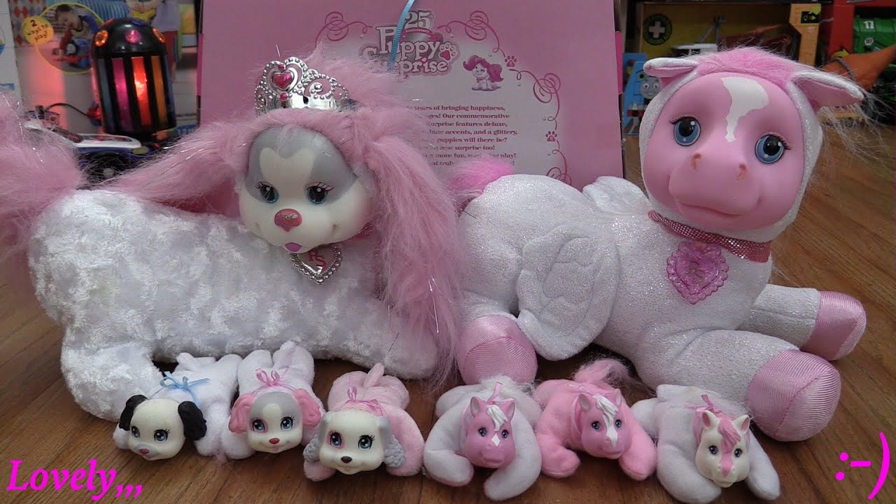 Stuffed Toys for Little Girls 25th Anniversary Edition Puppy
