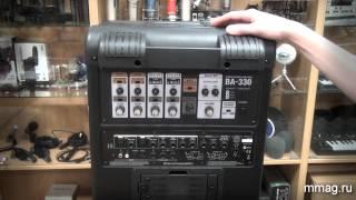 mmag.ru: Стерео акустическая система Roland BA-330 - видео обзор