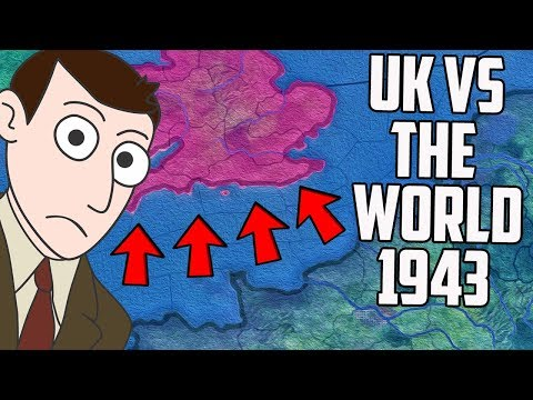 Saving Your Disaster Hearts of Iron 4 Campaigns - UK v The World 1943