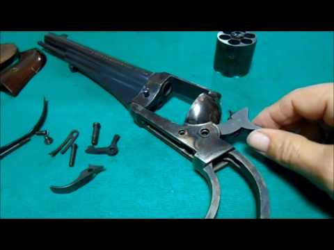 Uberti Remington 1875 Outlaw Disassembly