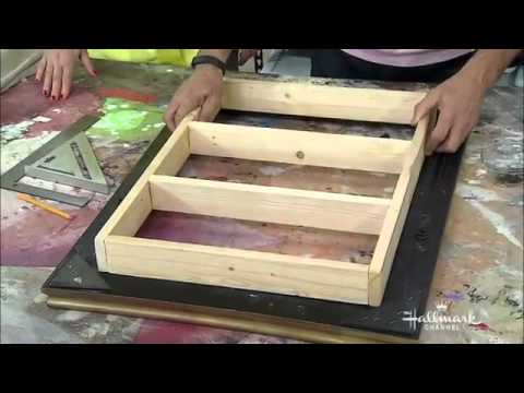 Home Family Making A Diy Picture Frame Makeup Vanity Youtube