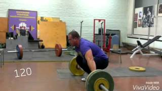 Weightlifting trening 09.2015