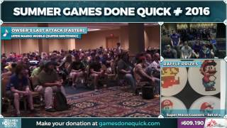 Super Mario World race by xsvArea51, Bramz, and truman in 40:06 - SGDQ 2016 - Part 151