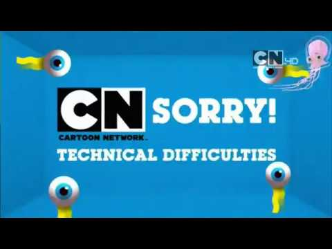 """Cartoon Network UK HD Clarks Gloforms """"Technical Difficulties"""" Competition"""