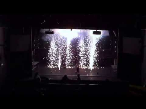 Stage Pyrotechnics Course Finale, Abbey Theatre