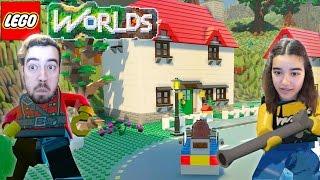 A NOVA HISTÓRIA LEGO | Lego Worlds C/ Sobrinha (NOVO)