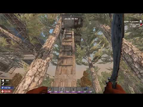 7 Days to Die - Test Seq 66.02 - RAW & UNCUT - NIGHT - Early finish while traveling