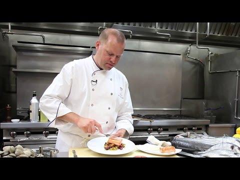 Chef Ben Pollinger's Recipe for Pan Seared Salmon