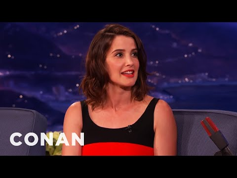 Cobie Smulders Is A Proud Canadian   CONAN on TBS