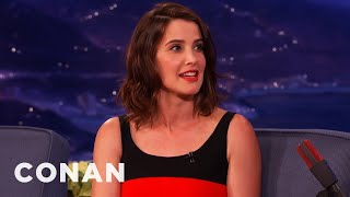 Cobie Smulders Is A Proud Canadian  - CONAN on TBS
