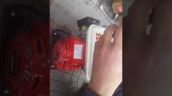 Cách sử dụng máy bơm nước chạy xăng Honda mini - bơm ruộng, tưới tiêu, tưới nương rẫy, vườn rau