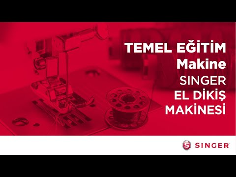 El Dikiş Makinası Temel Eğitim videosu