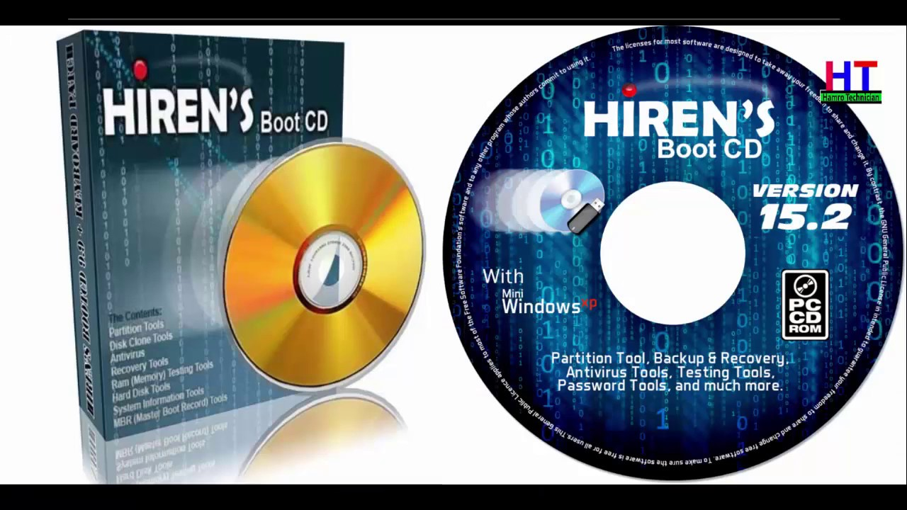 Hiren Boot A Rescue Disk Best Tool Ever Youtube