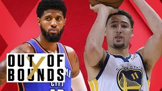 Klay Thompson Unaware He Has Critics; Paul George Gives Himself Nickname | Out of Bounds