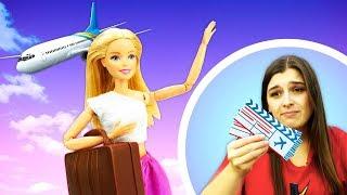 Барби иКен спешат насамолет! —Видео, как Кен бросил Барби иона плачет— Что случилось?